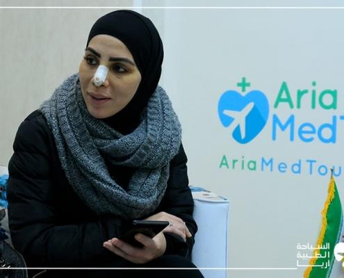 تجربة تيجان الاسنان في ايران لامرأة استرالية