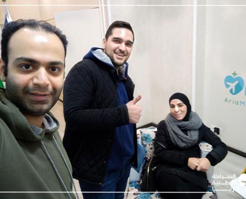 خدمات السياحة الطبية في ايران لسيدة أسترالية