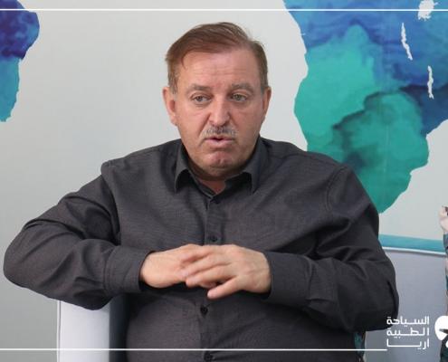 مريض ألماني عراقي يتحدث عن تجربة عملية الانف في ايران