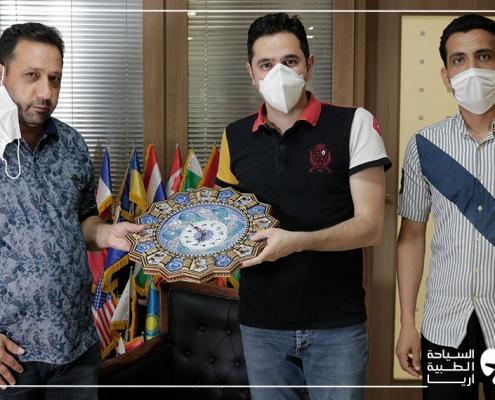 عملية جراحية لمريض من العراق أثناء وباء كورونا في ايران