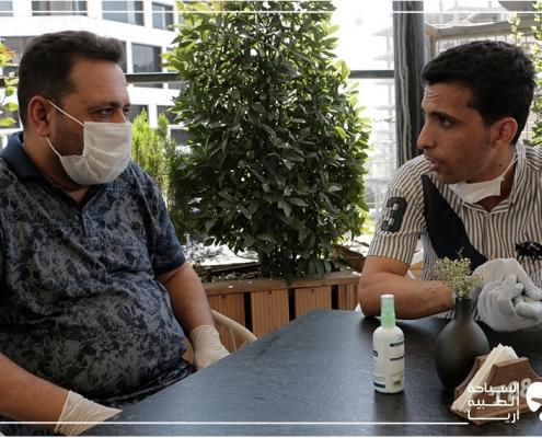 تجربة الجراحة في ايران أثناء وباء كوفيد-19