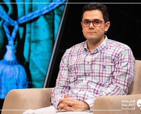 مشاركة آريا مدتور في برنامج نحن الإيرانيين التلفزيوني