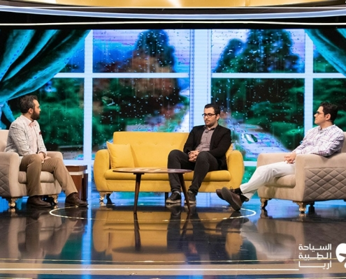 تحديات السياحة الطبية في ايران في برنامج تلفزيوني