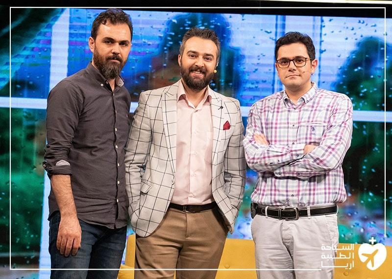 آريا مدتور في برنامج نحن الإيرانيين التلفزيوني