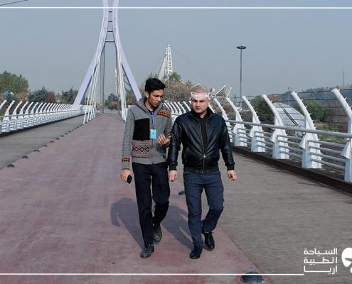 جولة سياحية بعد زراعة الشعر في ايران