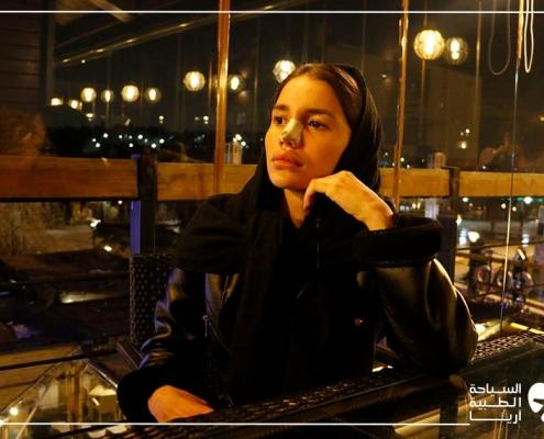التجول في طهران بعد عملية تجميل الانف في ايران