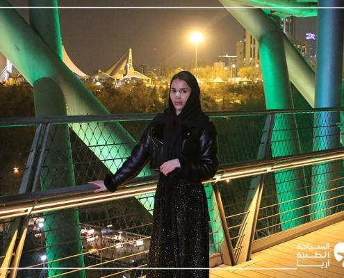 جولة في المدينة بعد إجراء عملية تجميل الانف في ايران