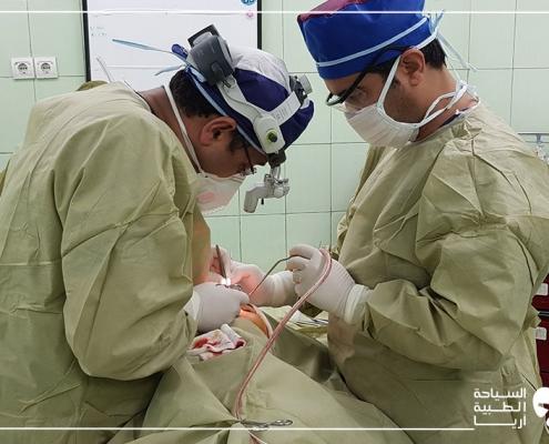 إجراء تجميل الانف في ايران رغم انتشار كورونا