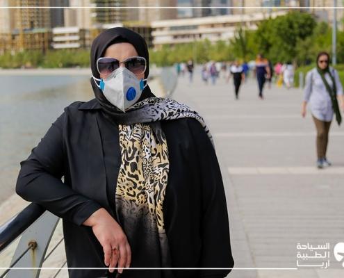 تجربة عملية الانف في ايران في ظل وباء كورونا