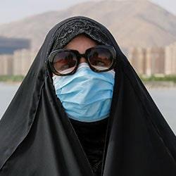 عملية تجميل الانف في ايران رغم جائحة كورونا