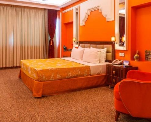 غرفة مزدوجة في فندق نيلو في طهران