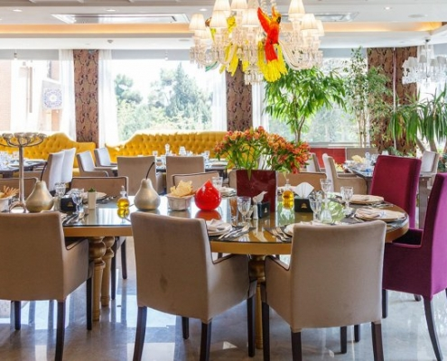 مطعم فندق نيلو في طهران