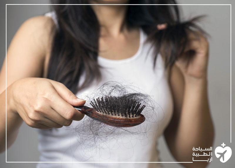 هل تساقط الشعر بعد عملية إنقاص الوزن عرض شائع؟