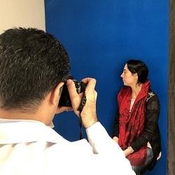 عمل زیبایی بینی دختر آلمانی در ایران