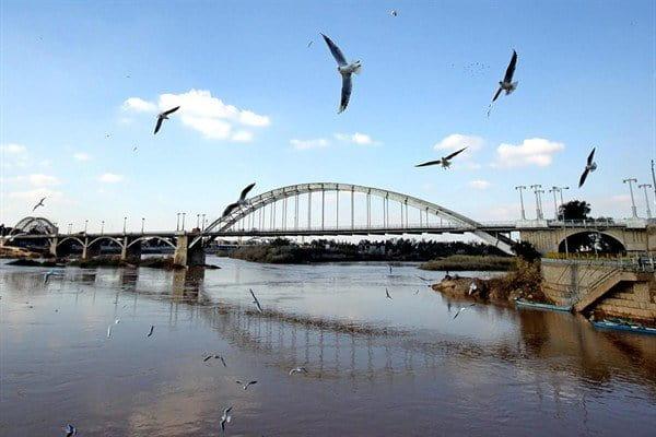 پل سفید اهواز از جاذبههای توریستی خوزستان