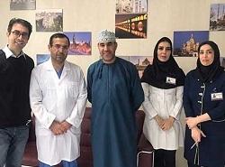 اسلیو معده بیمار عمانی در ایران