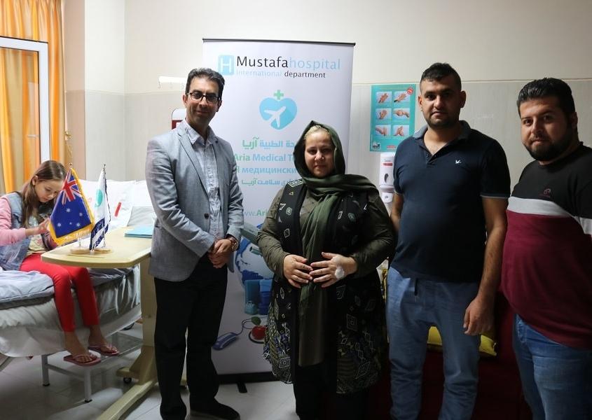 سفر گردشگر سلامت استرالیایی به ایران برای اسلیو معده
