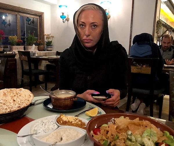 توریست استرالیایی در ایران