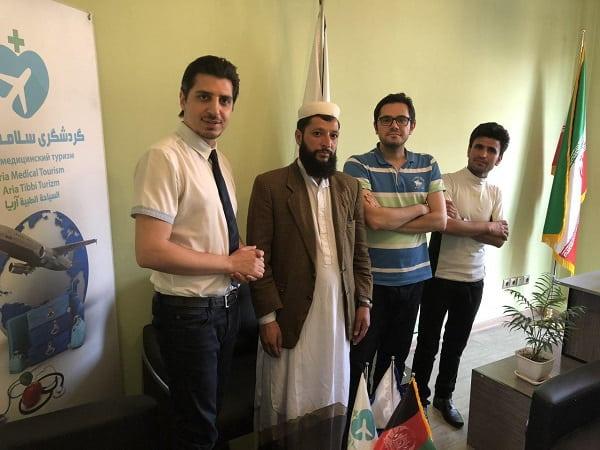 گردشگران سلامت افغان در ایران