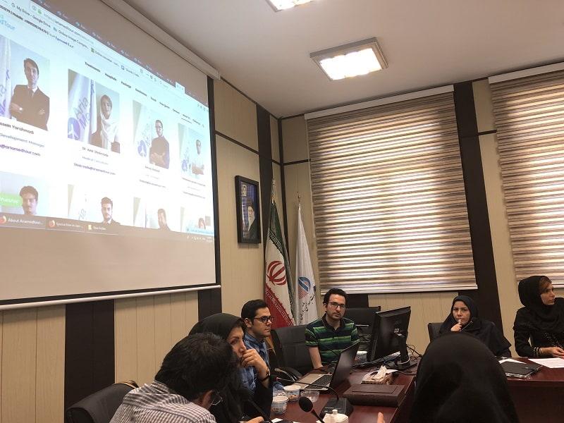 حضور مسئولین آریامدتور در کارگاه گردشگری سلامت تهران