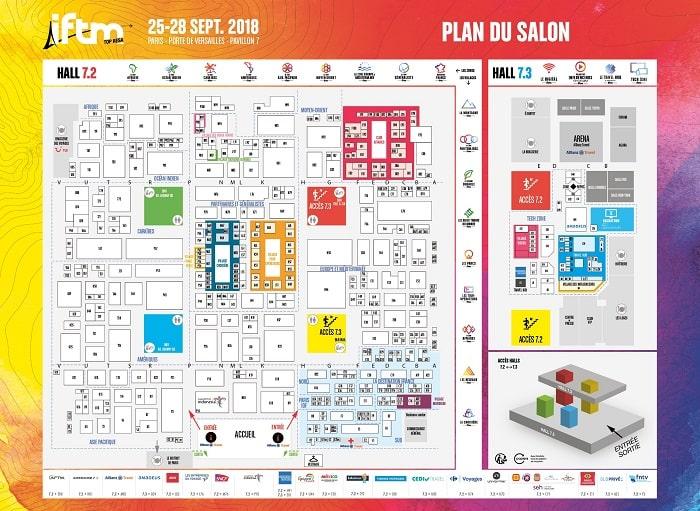 نقشه نمایشگاه تاپ ریزا 2018