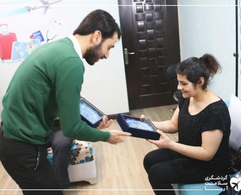 سفر پرستار دانمارکی به ایران برای جراحی بینی
