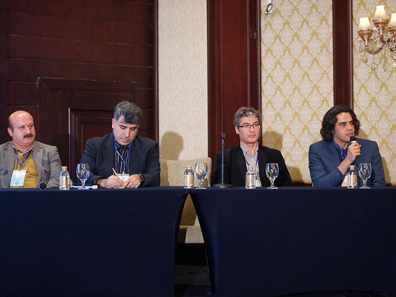 مقامات توریسم درمانی و رضا جمیلی سردبیر مدتورپرس در هتل اسپیناس پالاس