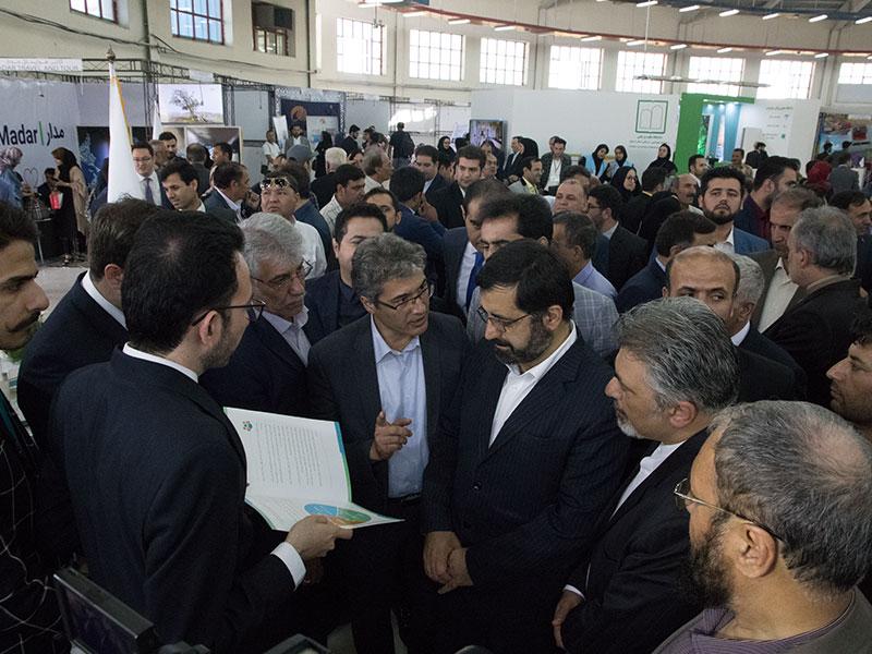 مذاکره هادی شجاری با استاندار اردبیل و آقای جهانگیری