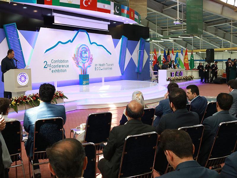 دومین کنفرانس–نمایشگاه بینالمللی گردشگری سلامت کشورهای عضو اکو در اردبیل