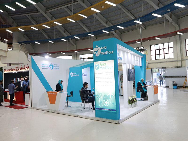 غرفه گشت سلامت آریا در نمایشگاه اکو 2019