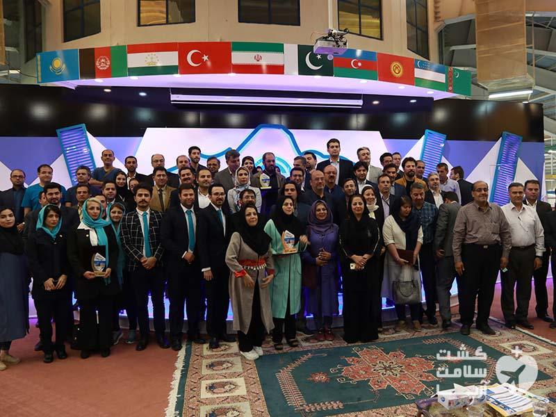 شرکت کنندگان و بازدید کنندگان دومین رویداد بینالمللی اکو در اردبیل