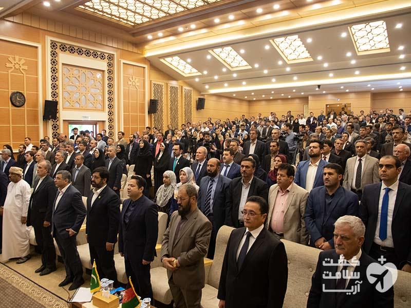 افتتاحیه دومین کنفرانس اکو در دانشگاه محقق اردبیلی با حضور سران کشورهای عضو اکو