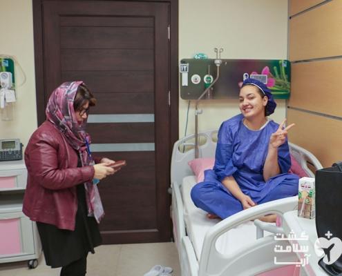 بیمار خارجی در بیمارستان ایران به همراهی شرکت تسهیل گر گردشگری سلامت آریا