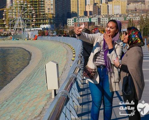 همراه شرکت تسهیلگر مدیکال توریسم آریا و گردشگر خارجی در بام لند