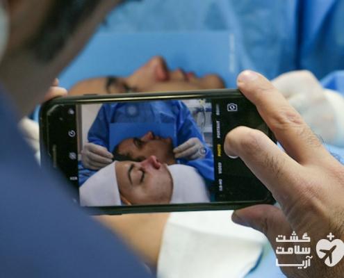 عمل جراحی دختر جوان اهل مادرید در بیمارستان ایران