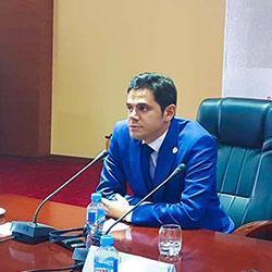 محمد نصری در کنفرانس و همایش گردشگری تاجیکستان