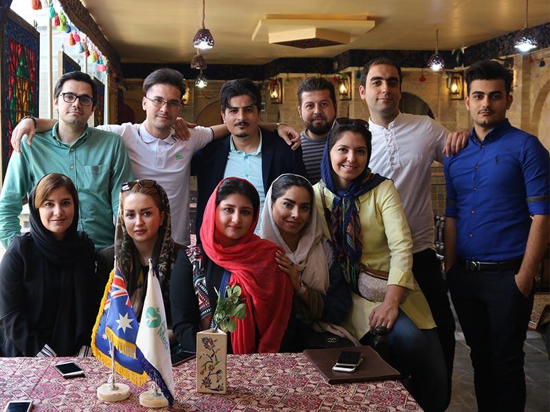 تیم آریامدتور همراه بیمار در سفر درمانی به ایران