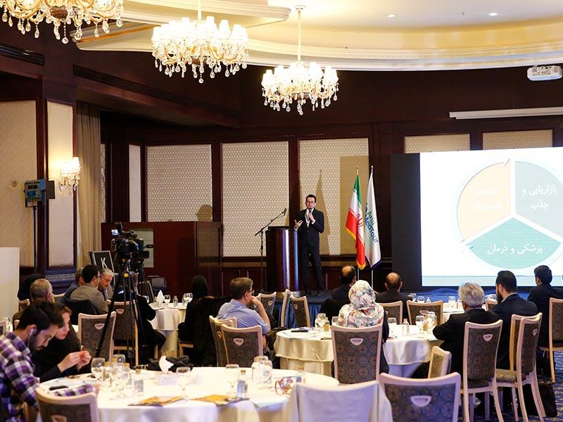 گردهمایی مدیران بیمارستانهای دارای واحد ipd در هتل اسپیناس پالاس