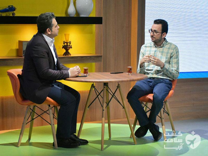 هادی شجاری بنیانگذار شرکت گردشگری سلامت آریا مهمان برنامه طلوع شبکه چهار