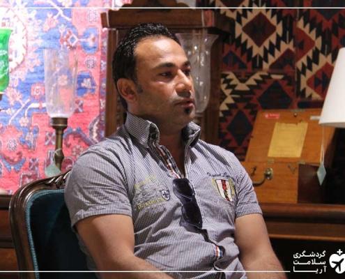 مصاحبه با توریست عراقی در ایران