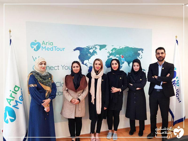 گردشگری سلامت در مشهد با حضور شرکت آریامدتور