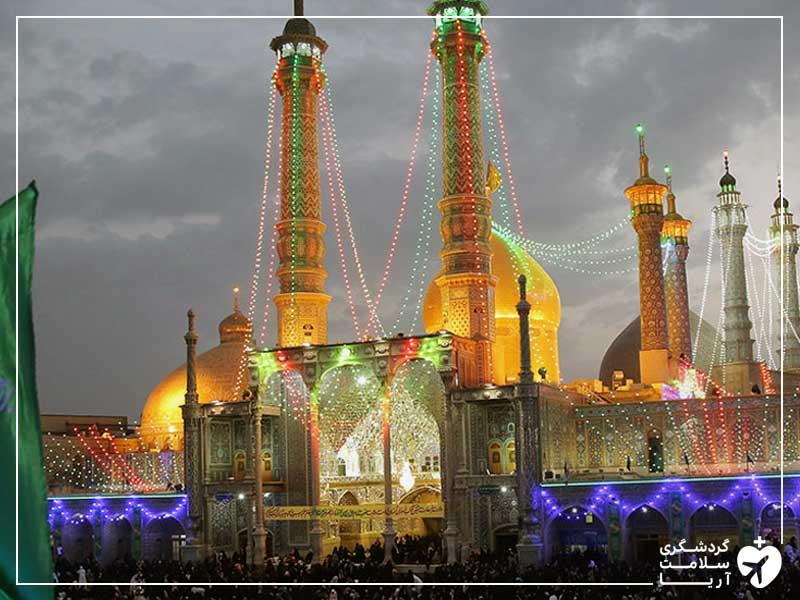 شهر قم دومین پایتخت مذهبی ایران پذیرای گردشگران سلامت عراقی