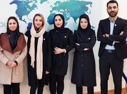 کارمندان شعبه مشهد آریامدتور شرکت تسهبلگر گردشگری سلامت ایران