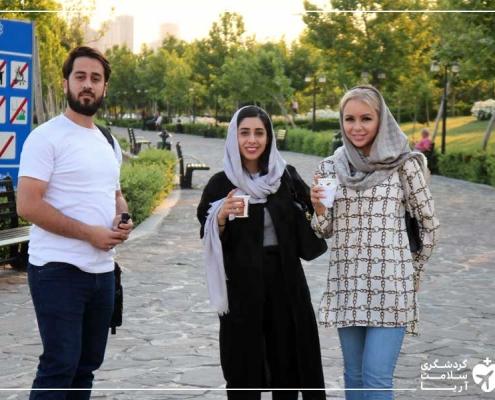 توریست فنلاندی برای عمل جراحی سینه در تهران