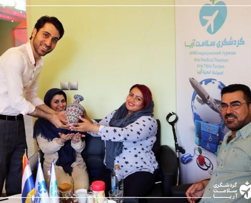 گردشگر خارجی برای جراحی در تهران