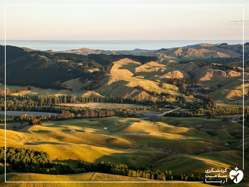 نیوزیلند یکی از بهترین کشورها برای گردشگری تندرستی
