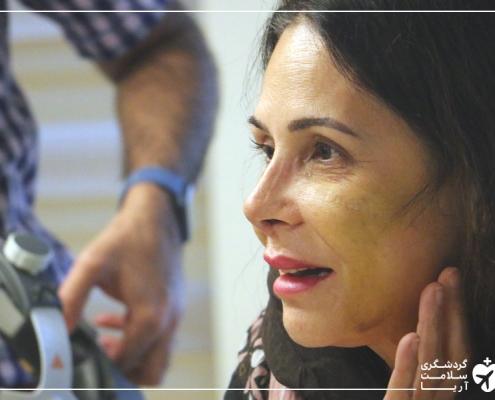 عمل بینی زن خارجی در تهران