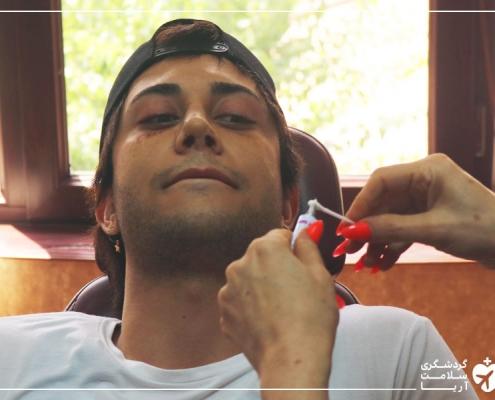 جوان استرالیایی در تهران برای جراحی پلاستیک