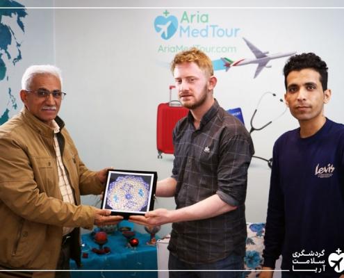 جراحی گردشگر عراقی در تهران با آریامدتور