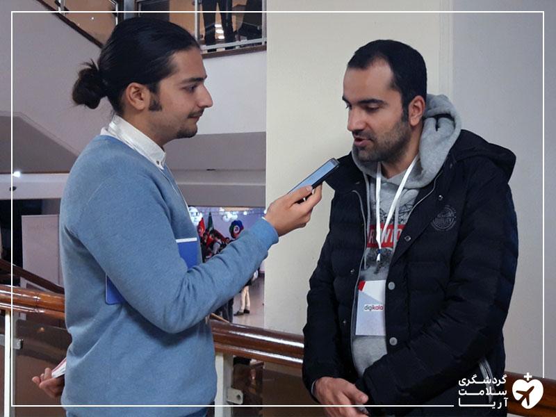 گفتگو با خلیل طاهری بنیانگذار رادین استارتاپ فعال در حوزهی امنیت اطلاعات در یلداسامیت
